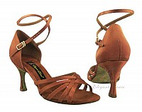 Dark Tan Latin Sandal