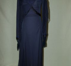 Dark Blue Theater Arts Dress