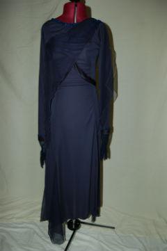 Dark Blue Theater Arts Dress