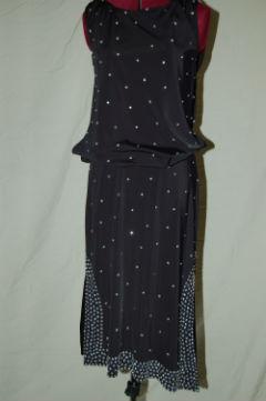 Black Latin Dress