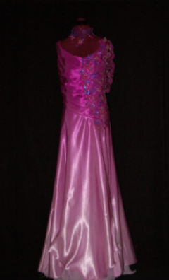 Purple/Pink Faded Ballroom Dress