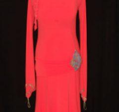 Orange Latin Dress/Long