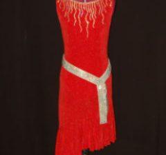 Red Latin CAB Belt